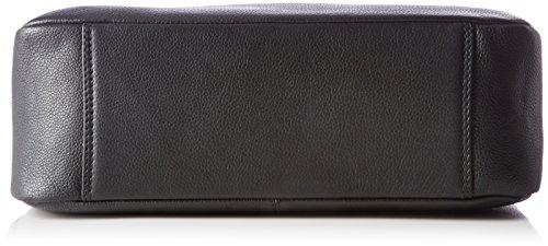 BREE dam Cary 6 axelväska, svart (svart), 11 x 34 x 33 cm