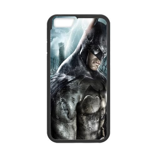 Batman Arkham Asylumblack coque iPhone 6 Plus 5.5 Inch Housse téléphone Noir de couverture de cas coque EBDOBCKCO09631