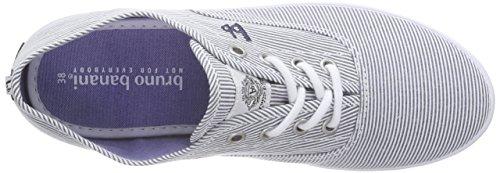 bruno banani Damen Sneaker Blau (Blue Multi 899)