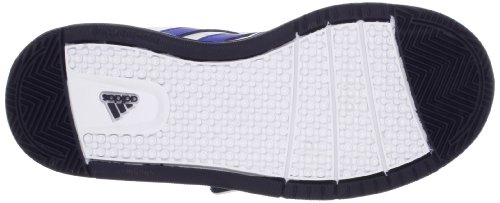 adidas Performance LK Trainer 5 CF K Q22670 Unisex-Kinder Gymnastikschuhe Weiß (Running White Ftw / Satellite / Collegiate Navy)