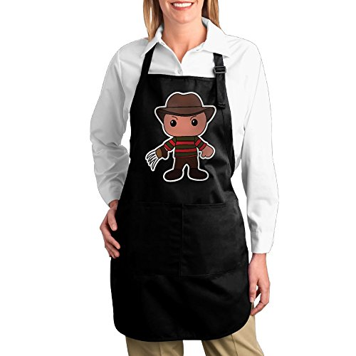 [Cute Funny Freddie Krueger Kitchen Aprons For Women Men,Cooking Apron,bib Apron With Pockets] (Toddler Gardener Costume)