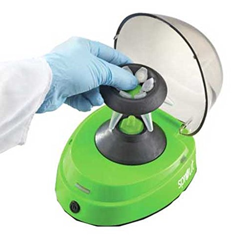 Heathrow Scientific HS120301 Sprout Mini-Centrifuge, Universal Plug Type, 100-240V, 50/60 Hz, Green by Heathrow Scienitific