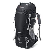 Mountaintop 65/80L Zaino Trekking Impermeabile Escursionismo montagna campeggio alpinismo viaggio