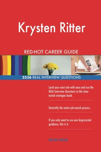 Krysten Ritter RED-HOT Career Guide; 2536 REAL Interview Questions
