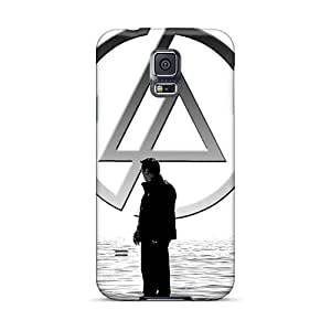 Samsung Galaxy S5 PGj1903XBpD Allow Personal Design Realistic Linkin Park Skin Scratch Resistant Hard Phone Cover -PhilHolmes