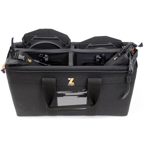 Zylight Dual Head Case for F8 LED Fresnel Light, ATA Approved