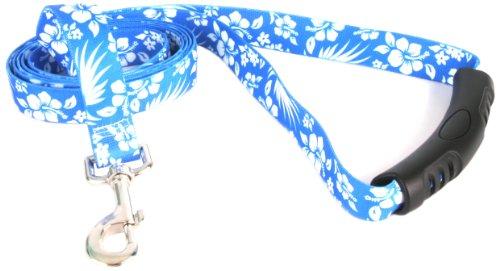 Yellow Dog Design EZ-Grip Lead, 3/4-Inch by 60-Inch, Aloha - Aloha Pet Lead