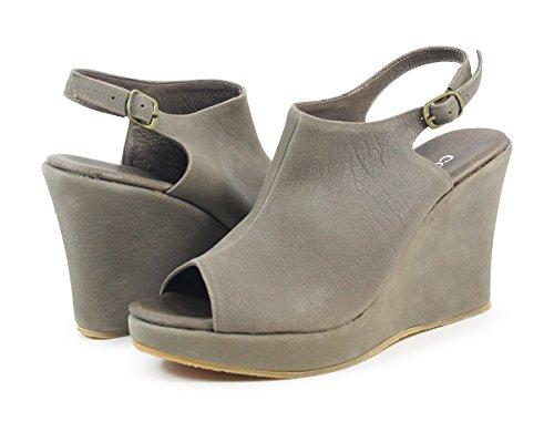 Cordani Wellesley Buff Stein Vask Kile Sandal