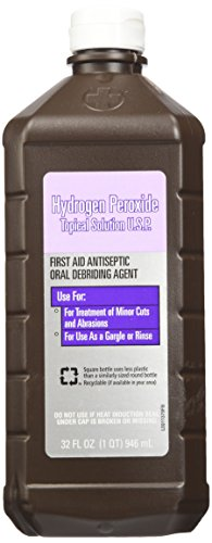 Hydrogen Peroxide Topical Solution 32 Oz (2 Pack)