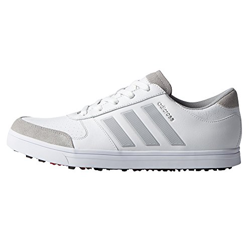 adidas Mens Adicross Gripmore 2 Golf Shoes, Brand New White/Clear Onix/Ray Red