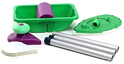 Gooday Multi-functional Paint Roller + tray Set Painting Brush Point N Paint +Three Roads Tool for Home Improvements