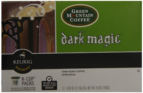 Green Mountain Coffee, Dark Magic (Extra Bold), 12-Count K-Cup Portion Pack for Keurig Brewers (Pack of 3) by GREEN MOUNTAIN COFFEE ROASTERS (Image #2)