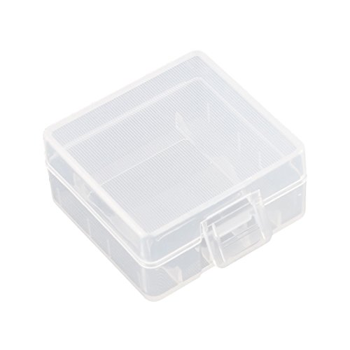 uxcell Soshine Battery Case Holder Storage Container for 2 x 18350 Batteries by uxcell (Image #2)