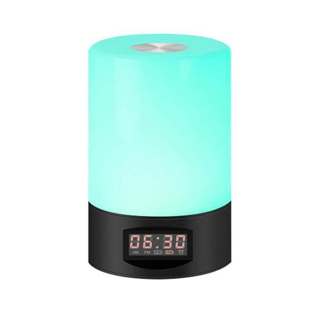 TD Wake Up Light, Creative Intelligent Led Wake-up Light Bedside Lamp Charging Touch Table Lamp Night Light Q0004
