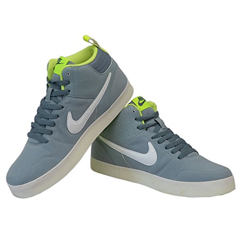 Nike Men's Liteforce III MI Dove Grey, White and Bold Green Canvas Sneakers  - 12 UK: Buy Online at Low Prices in India - Amazon.in