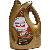Golden Horse 5W40MC3 Synthetic Gasoline/Diesel Engine Oil, 5 Litres