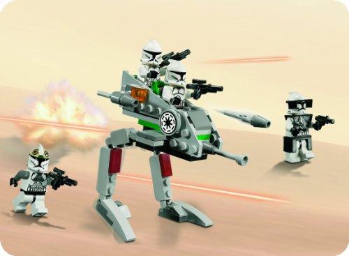 Amazon Lego Star Wars 8014 Clone Walker Battle Pack Toys Games