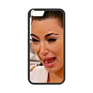 HipsterOne Kim Kardashian Crying Face Funny Case for iPhone 6 (4.7 inch; Laser Technology) Custom Phone Cover