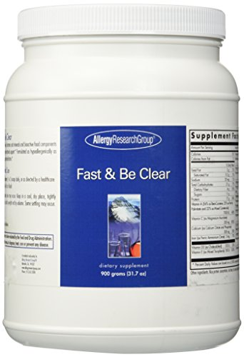 Allergy Research Allergy Fiber Supplement - Allergy Research (Nutricology) - Fast & Be Clear, 900 g powder