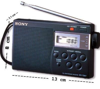 Sony ICF-M260 AM/FM PLL Synthesized Clock Radio with Digital Tuning & Alarm by Sony