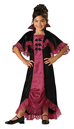 [Costumes For All Occasions Ic17004C8 Midnight Vampiress 2B Child 8] (Countess Of Darkness Child Halloween Costume)