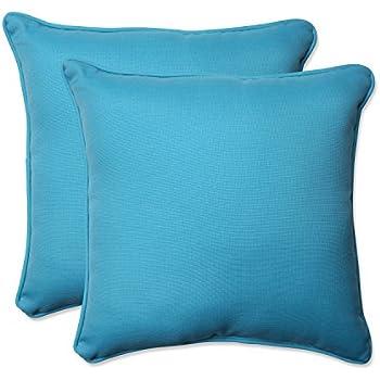 Amazoncom Pillow Perfect IndoorOutdoor Forsyth Corded