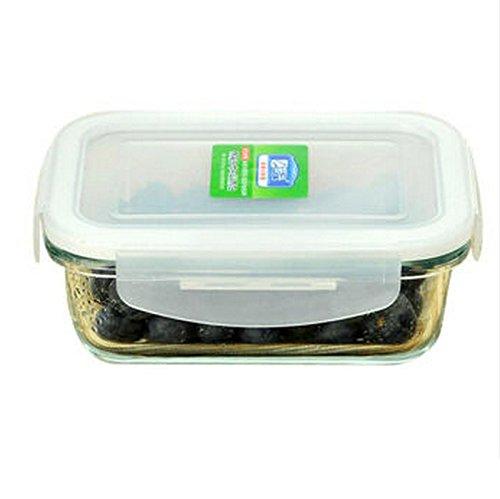 JAZS® Rectángulo Cristal resistente al calor Cristal sellado humedad a prueba de humedad sellado multiuso 2338d9