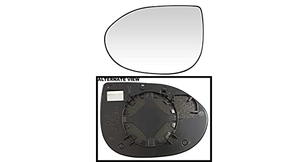 Driver-Side APDTY 67765 Replacement Left Side View Mirror Glass Fits 2005-2006 Hyundai Sante Fe Models Without Heat Replaces 8761126000