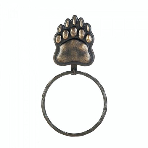 Bear Paw Towel Ring delicate