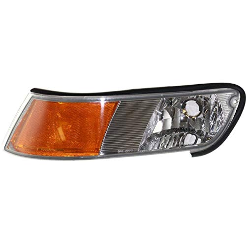 New Front Left Driver Side Corner Lamp For 1998-2002 Mercury Grand Marquis, -