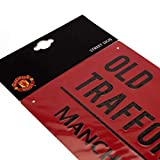 Manchester United FC Street Sign Red - Metal - Old