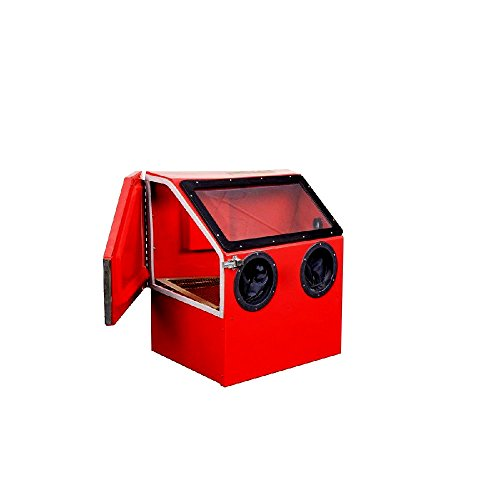 Bench Top Sandblast Cabinet 30 Gallon 125 Max PSI Sandblasting Sandblaster Shop Or Garage - Skroutz by Unknown