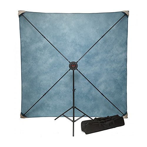 Studio Assets PXB Portable X-Frame Background System - 8x8ft. (Fabrics Not Incl
