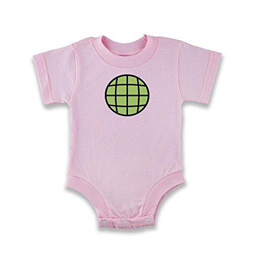 Planeteer Costume Pink 6M Infant Bodysuit by Pop Threads