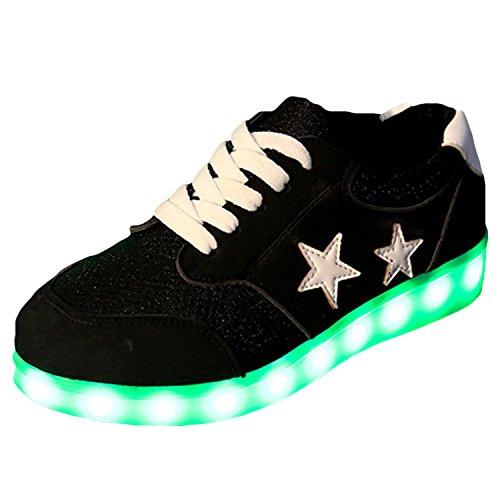 Azbro, Sneaker donna nero Black