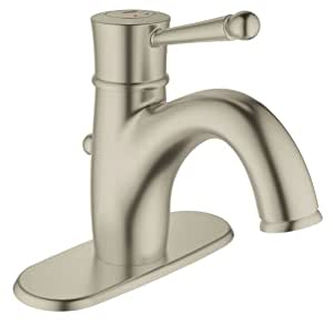 Grohe 23307en0 wexford single handle bathroom faucet with escutcheon - Grohe kitchen faucets amazon ...