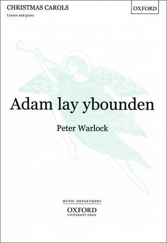 (Adam lay ybounden: Vocal score by Peter Warlock (Composer) (31-Dec-1923) Sheet music)