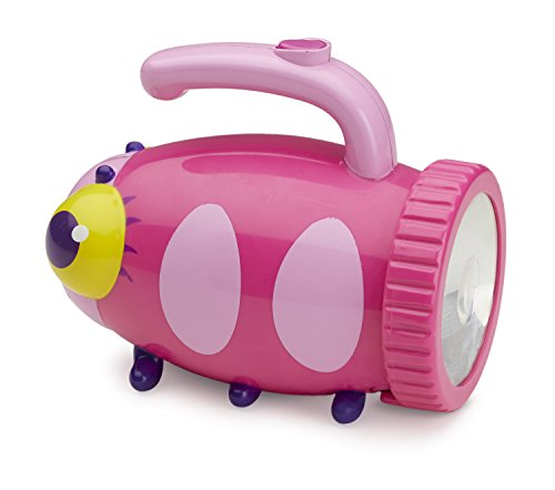 Melissa & Doug Sunny Patch Trixie Ladybug Flashlight With Easy-Grip ()