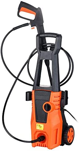 Hopekings Electric Pressure Washer 1550PSI 1.35GPM Electric Power Washer Machine with Power Hose Gun 1550PSI, 1.35GPM