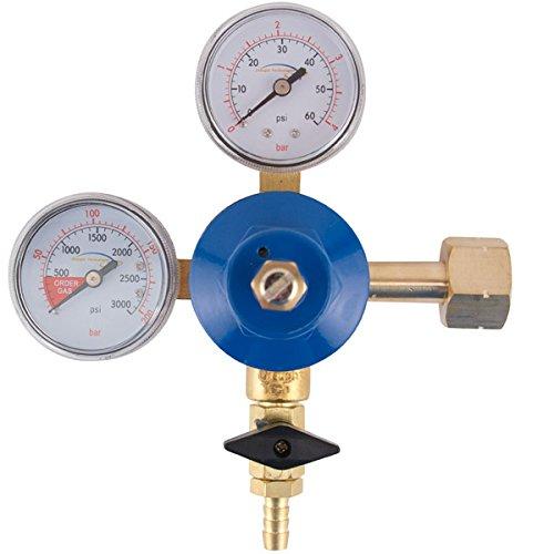[Premium Double Gauge CO2 Regulator] (Premium Double Gauge Co2 Regulator)