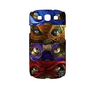 Generic Hard Plastic Back Phone Cover For Teen Girls Printing Teenage Mutant Ninja Turtles 1 For Samsung Galaxy S3 Full Body Choose Design 1-4