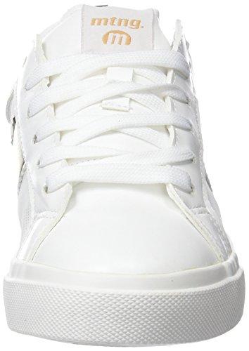 Pu Colores MTNG Varios Blancometal Zapatillas Platino de Action Deporte para Mujer Blancomesh Garden 0Tqz0B