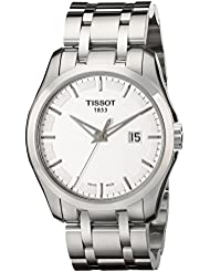Tissot Mens T0354101103100 Couturier Stainless Steel Bracelet Watch
