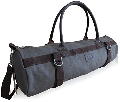 Yoga Mat Bag for Men or Women with Zippered Storage Pocket and Carrying Strap, Yoga Carrier Fits Standard and Thick Exercise Mats, including all sizes small, medium, Large, XL by Mosher Mountain Gear