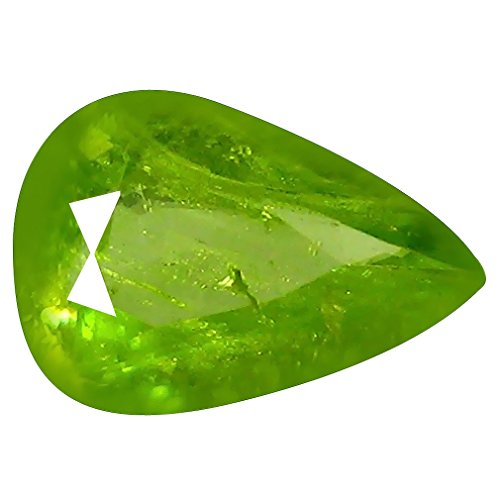 Deluxe Gems 0.82 ct Pear (8 x 6 mm) Pakistan Un-Heated Pakistan Sphene Natural Loose ()