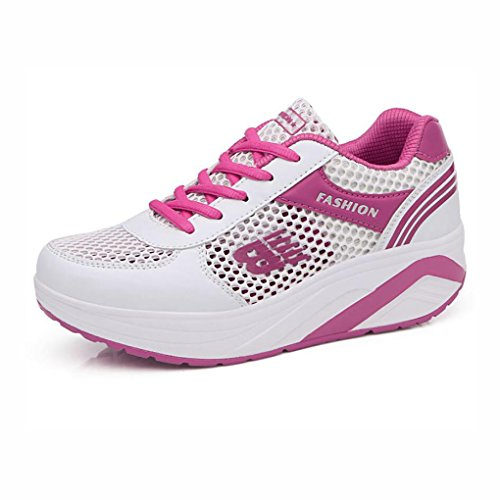 Dicksohlen Breathable Casual 38 Farbe Damenschuhe Mode Schuhe Reisen Outdoor Mesh Sneakers B C Laufschuhe Sommer Größe Openwork XZBFZ