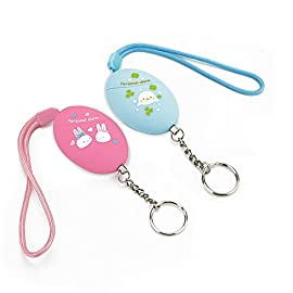 2016 New Kawaii Emergency Personal Alarm/Wolf Alarm for Kids,Elderly,Women,Perfect Adventurer your Bag,120dB,Batteries Included