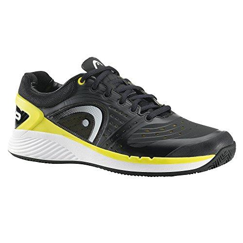 Head - Sprint Pro Clay Herren Tennisschuh (schwarz/weiß/gelb) - EU 42,5 - UK 8,5