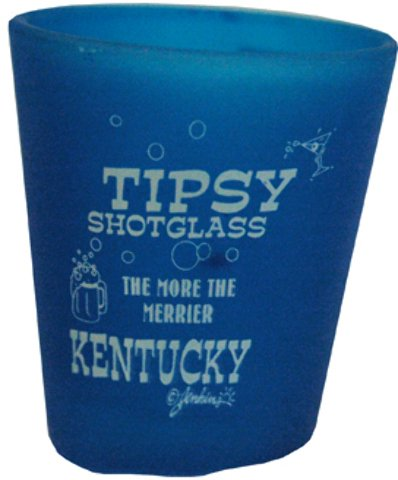 Jenkins Enterprises 1937871 Kentucky Shot Glass Tipsy 4 Assorted - Case of 144 by Jenkins Enterprises
