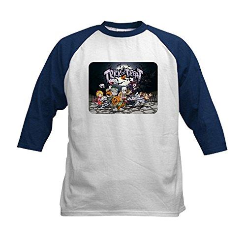 [Royal Lion Kids Baseball Jersey Halloween Trick or Treat Costumes - Navy/White, Medium (10-12)] (Dracula Makeup)